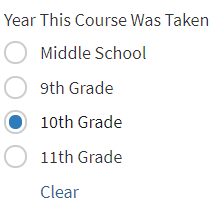 self reported high school coursework form Applicants will themselves enter all of their grades and high school courses in an online application form self-reported transcripts high school students.